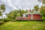 Brave Cove is a very popular unplugged cabin on Lake Superior`s North Shore.