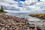 Enjoy your private section of Lake Superior shoreline at Brave Cove.