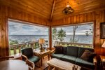Enjoy these incredible views of Lake Superior from the living room.