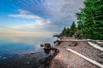 Beautiful sunsets await your visit to Lake Superior`s North Shore.