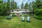 Namaste Main is a beautiful Lake Superior home located on Cascade Beach Road near Lutsen, MN.