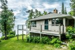 Enjoy views of Lake Superior from most rooms and the home`s numerous balconies.