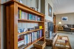 Leave your books at home and enjoy the home`s library during your stay.