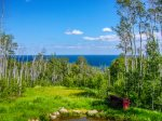 While not directly on Lake Superior the views of the lake are fantastic and the seclusion of this spot makes it great for a romantic getaway.