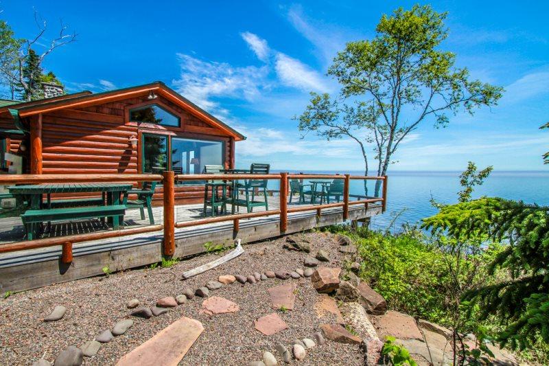 Foxfire Cabin Lake Superior Lutsen Mn Cascade