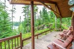 Christine`s Hideaway is a cozy log-sided cabin tucked away halfway up the Gunflint Trail on Poplar Lake.