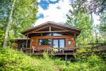 At the edge of Minnesota`s great wilderness, with direct access to the BWCA, this 3 bedroom,1 bathroom log cabin is newly remodeled on one easy-access level.