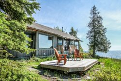 Cedar Allee offers relaxation both inside and out with amazing Lake Superior views and large deck.