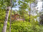 This cozy little one bedroom, one bathroom, one story cabin sits on 3 acres providing a peaceful, serene getaway on Lake Superior`s North Shore.