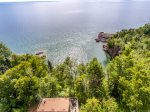 Cathy`s Cove is located just outside Tofte on Lake Superior`s North Shore.