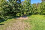 This private driveway leads you to your vacation rental home in Lutsen, MN.