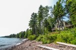 Enjoy Lake Superior Views from this beautiful and luxurious vacation rental home.