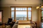 You will love the unobstructed views of Lake Superior form the large living room windows.