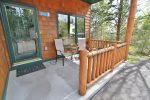 Enjoy a cup of coffee in the morning while hanging out on this townhome`s front porch.