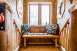 Or curl up on the reading bench with a good book and peek-a-boo views of Lake Superior.