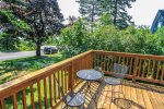Sit out on the front deck for great views of the Lake Superior Harbor.