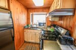 Enjoy the luxury of a large home kitchen in your small North Shore cabin.