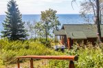 The home has 2 bedrooms, 1 bathroom and is conveniently located just steps away from Lake Superior.