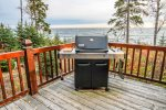The deck of the main home has a gas grill for you to enjoy summer cookouts.