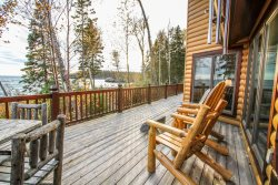Enchanted Shores is a spacious vacation home on the shores of Lake Superior in the town of Hovland, MN.