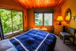 Amazing views of Lake Superior from the room and it`s private deck.