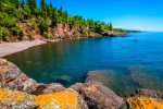 Enjoy the incredible views of Lake Superior during your stay at the Gull Harbor Condominiums.