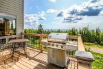 Grill on this deck and enjoy the view of Lake Superior.