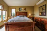 It features a Queen sized Bed and a great view of Lake Superior.