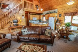 Lutsen Log Lodge 14 is a beautiful log cabin located in the heart of Lutsen on Ski Hill Road next to Superior National Golf Course.
