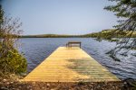 The private dock allows you to tie up your boat, canoe, or kayak.