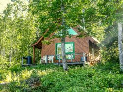 Poplar Valley Cabin a rustic cabin located near the headwaters of the Poplar River.