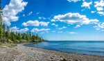 Enjoy this gorgeous stretch of Lake Superior shoreline during your stay at Sandy Beach.