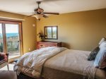 The master bedroom has a private balcony and amazing Lake Superior views you can enjoy from the bed.