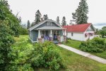 This home is located a short walk from the Grand Marais Harbor area.