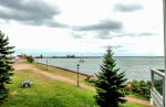 The Grand Marais Harbor is right outside the doors of Cobblestone Cove