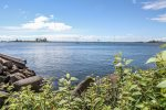 Enjoy Lake Superior and the harbor without leaving the property