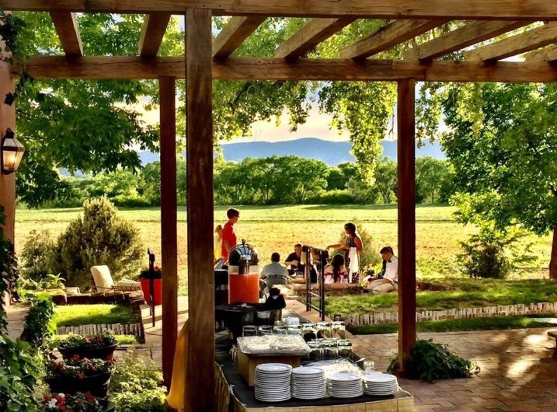 La Mesita Ranch Casas De Santa Fe Furnished Vacation Rental