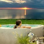 Bayfront private hotub