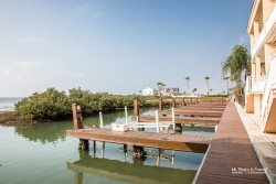 Water front Luxury Villa with Dock in Sleek Gated Harbor