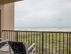 Spacious outdoor patio with beach views. Enjoy a cup of coffee watching the sun rise.