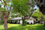 Soak away your cares in the hot tub tucked away in the courtyard