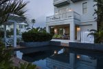 Private backyard. Lotus Villa Luxury 4 story Vacation Rental at the Shores South Padre Island