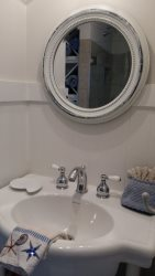 2nd floor Guest sink. Lotus Villa Luxury 4 story Vacation Rental at the Shores South Padre Island