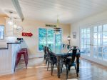 Dining Area opens to Screen Porch