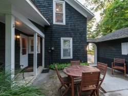 Knotty Pine . Classic Cottage with Large Screened Porch and Lake Michigan Views