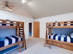 Bedroom 4 Bunks