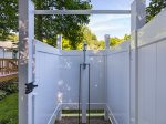 Private Outdoor Hot/Cold Shower