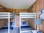 Bedroom 5. Guest House. 2 Bunks.