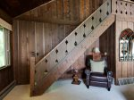 Quiet Reading Nook and Stairs to Loft