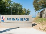 Dyckman Beach is just two blocks away